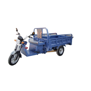 Van cargo electric tricycle and seperate parts