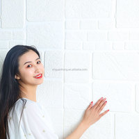 3d brick wall paper panels sticker brick