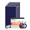 Bluesun 5kw solar lighting system for indoor 5000w solar system home power kit hybrid solar power system