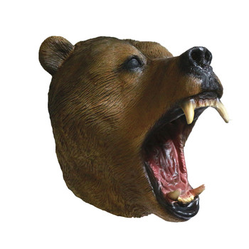 Classic Grizzly Bear Mask Full Head Great Design Animal Fancy Dress Party Mask