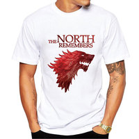 Men's Summer We Are The T-Shirt Game of Thrones T-Shirts Youth Streetwear Jon Snow Homme T-Shirt for Man