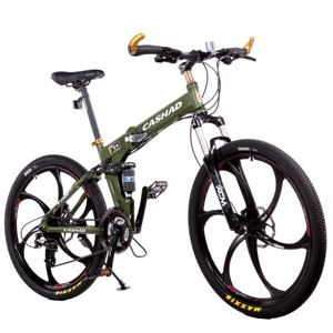Land Rover bicycle Carbon Folding mountain bike, 26er mtb24 Speed Gears and Aluminum Frame mountain bike,bicicleta