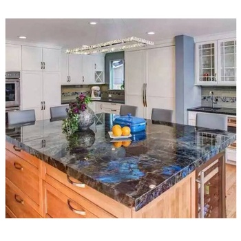 Natural Lemurian Blue Stone Countertop