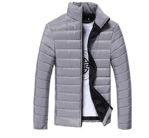 Mens Spring Autumn Down Jackets Thin Slim Fit Coats Jacket Outerwear