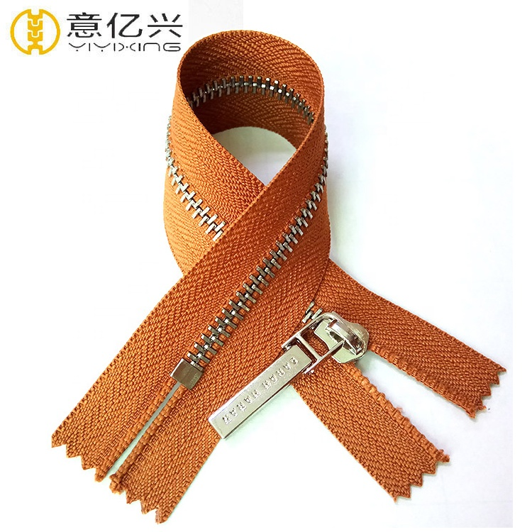 Factory Wholesale Customized Metal Zipper