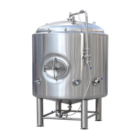 500L 1000L 2000l Best Stainless steel storage tank For Craft Beer brewing 10BBL 20BBL Brite beer tank