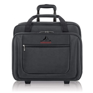rolling laptop briefcase rolling laptop bags for women and men fits up to 17.3 inch laptops