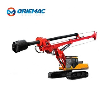 SR265 SANY Hydraulic Piling Rig Price Piling Equipment