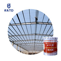 Fire retardant coating acrylic paint fireproof powder coating fire retardant paint