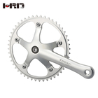 A12-AS240 Manufacturer bicycle accessories crank length 170mm 50t alloy fixed gear bike crank set