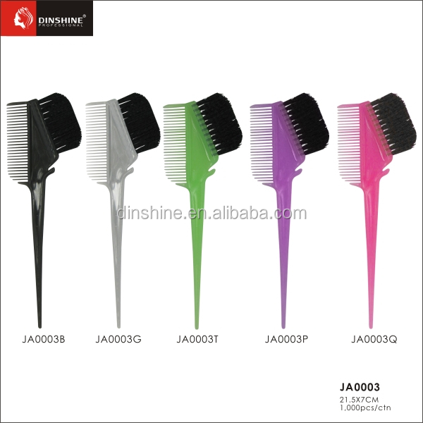 Barber Used Soft Nylon Bristle Hair Brush Personalized Hair Dye ...