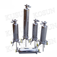 Superior quality filtration equipment 304 and 316 stainless steel filter housing millipore