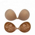 Sexy Hand Shape Push Up Strapless Self Adhesive Invisible Cloth bra for Women