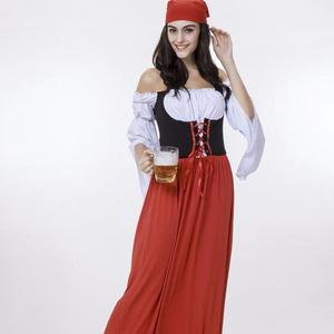5ff566ba58d 2019 Oktoberfest Cosplay Beer Dress Sex Girl Sexy Maid Bavarian Dirndl  Woman Wholesale Carnival For Adults German Costume