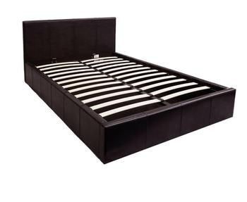 dd27adc6c2f5 modern design white black pneumatic pu bed with storage bed base double  faux leather gas lift