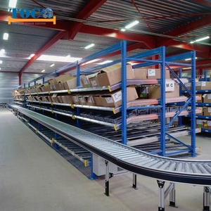 Industrial Capacity up to 500kg/level Metal Carton Flow Shelving