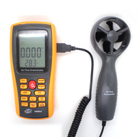 Wind Speed Data Recorder Digital Anemometer GM8902 Electronic Wind Speed Measurement 0.3~45m/s