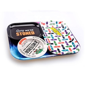 release date: d8bf1 8fc97 Itinbox Factory Raw Custom Rolling Tray Metal Tobacco Weed Tin Tray