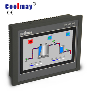 "China manufacture Coolmay 4.3"" HMI/PLC all in one RS485/RS232/USB port"