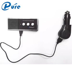 Newest mini with certificate ce rohs fcc usb bluetooth car kit