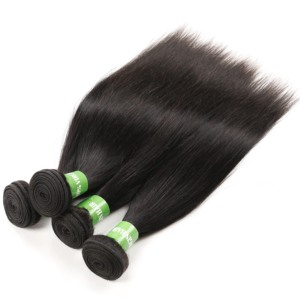 Best Quality Human Cuticle Aligned Indian Temple Mink Hair Bundles 11A Grade No Shed Shedding Free