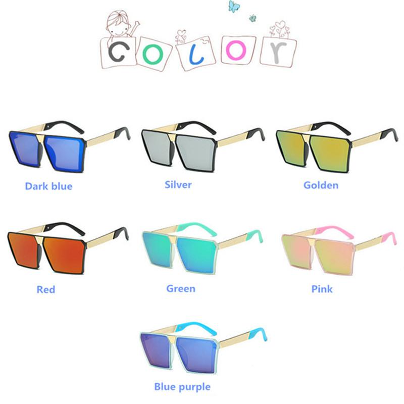 4055c982b 2019 Marca Revestimento Óculos de Sol Óculos De Sol Crianças UV400  Camuflagem Quadro Óculos de Proteção