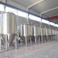 10BBL commercial turnkey stainless steel craft beer brewery equipment for sale