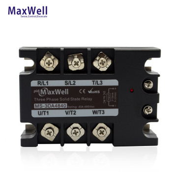 Maxwell MS-3DA4840 40Amps three-phase solid state relay