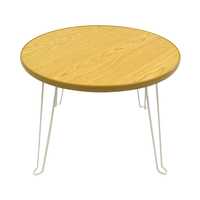 NPVL004 High Quality Portable Round Folding Table Wholesale Portable Folding Cocktail Table Bar Table