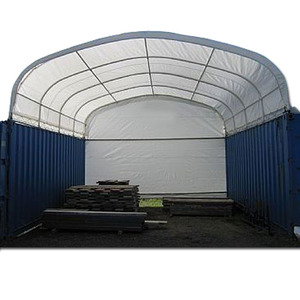 Big Dome Warehouse Shipping Container Cover Shelter
