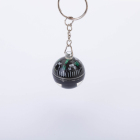 Custom compass key chain with ball compass for outdoor hiking