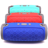 1200mAh Battery 10W Power ABS Portable Mini Wireless Round High Quality Party Karaoke Bluetooths Speaker