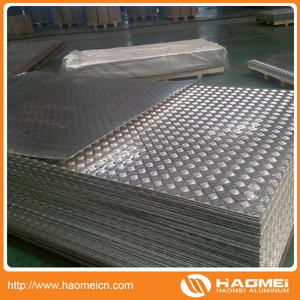 Chapa de aluminio antideslizante para decorar en china for Chapa antideslizante