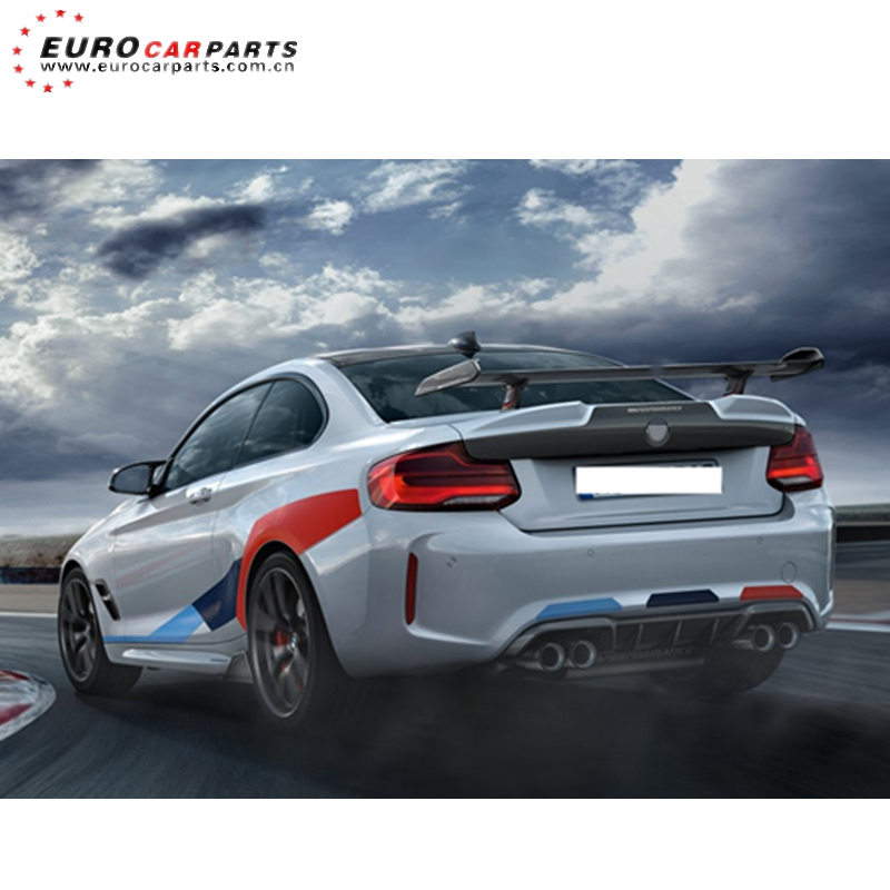 F87 M2 rear wing fit for F87 2015-2019year M2 MP style carbon fiber F87 MP rear spoiler