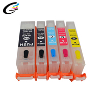 best selling products Rechargeable ink Cartridge PGI850 CLI851 for Canon IP7280 MG5480 Refill Cartridges