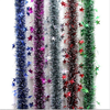 Wholesale Cheap Metalized twist Christmas Tinsel Garland for Decoration
