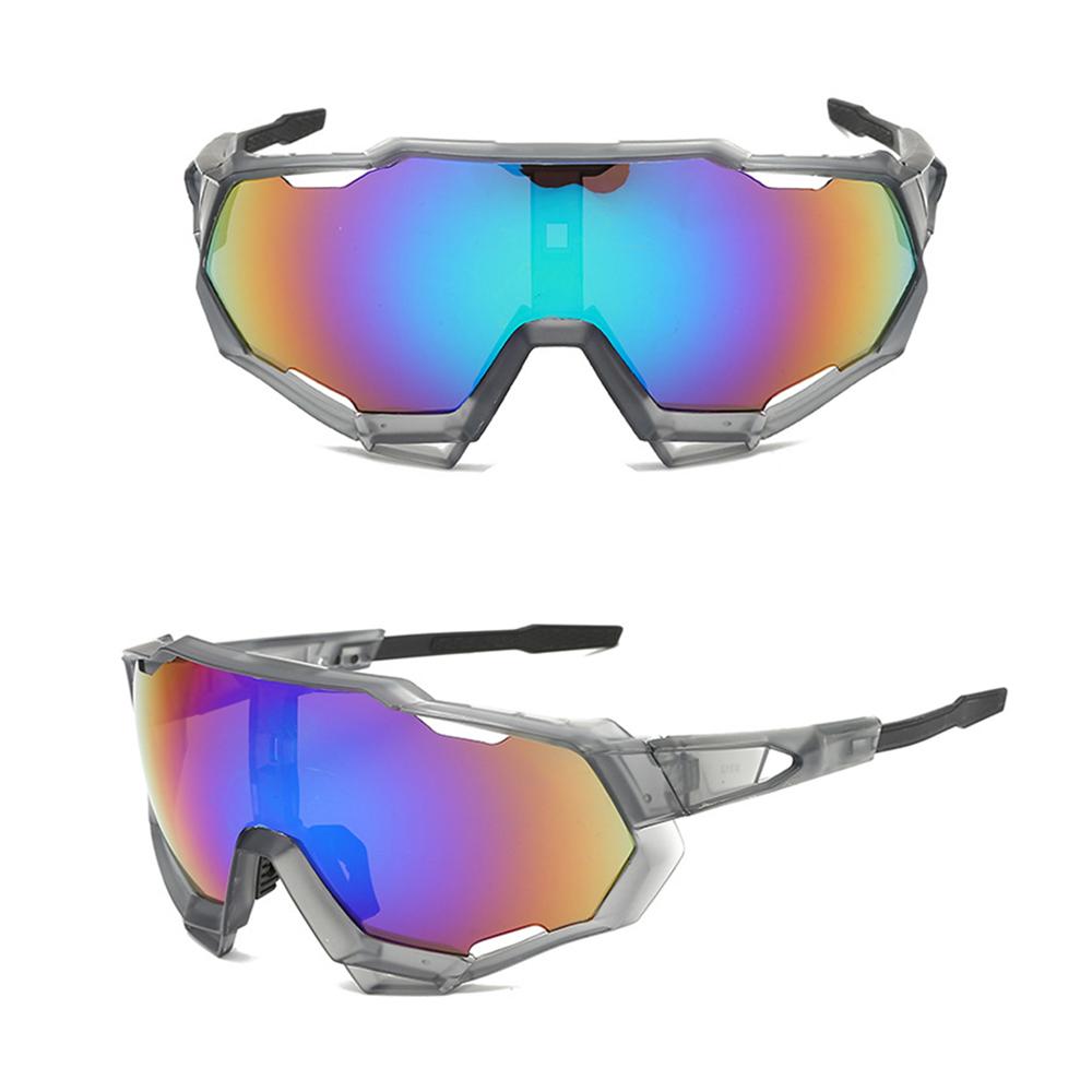 कस्टम साइकल चलाना चश्मा Gafas Ciclismo बड़े पीसी UV400 वसंत काज आगे बढ़ना खेल धूप का चश्मा