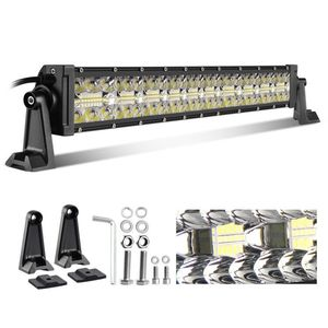 "New 12V 22"" 32"" 42"" 24Volt LED Bar Three Row Super Bright Long Distance 4x4 52inch Offroad Car Led Light Bar For Truck"
