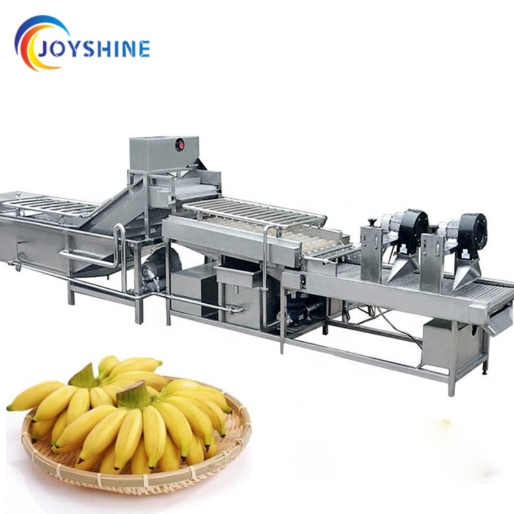 Automatique de chips de banane faisant la machine petite échelle plantain puces machine de production