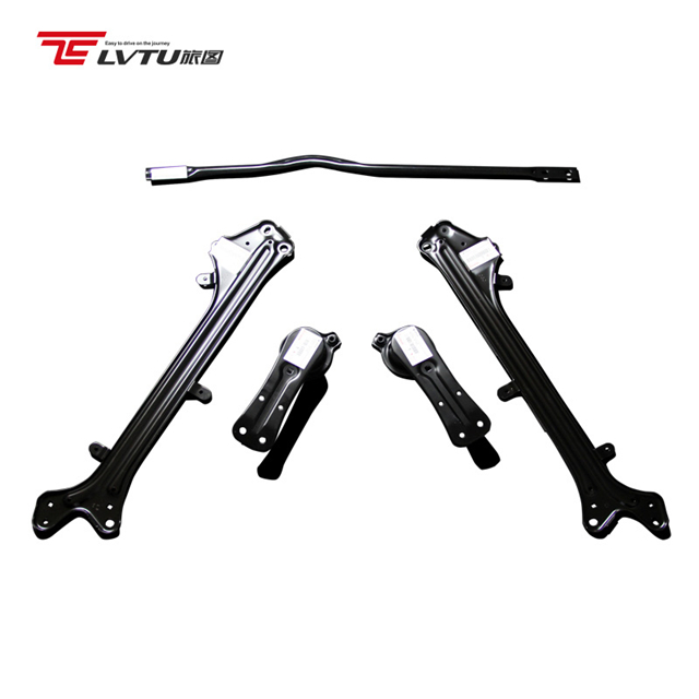 Auto Body Kits Schorsing Brace stabilizer bar Fit voor Toyota Reiz Crown Achterwielophanging Subframe Brace