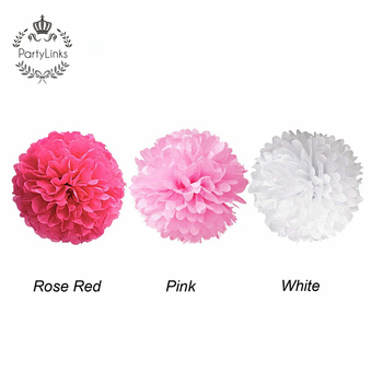13m Color Tissue Paper Pom Poms Hanging Decorative Flower Ball For Wedding Party Decoration
