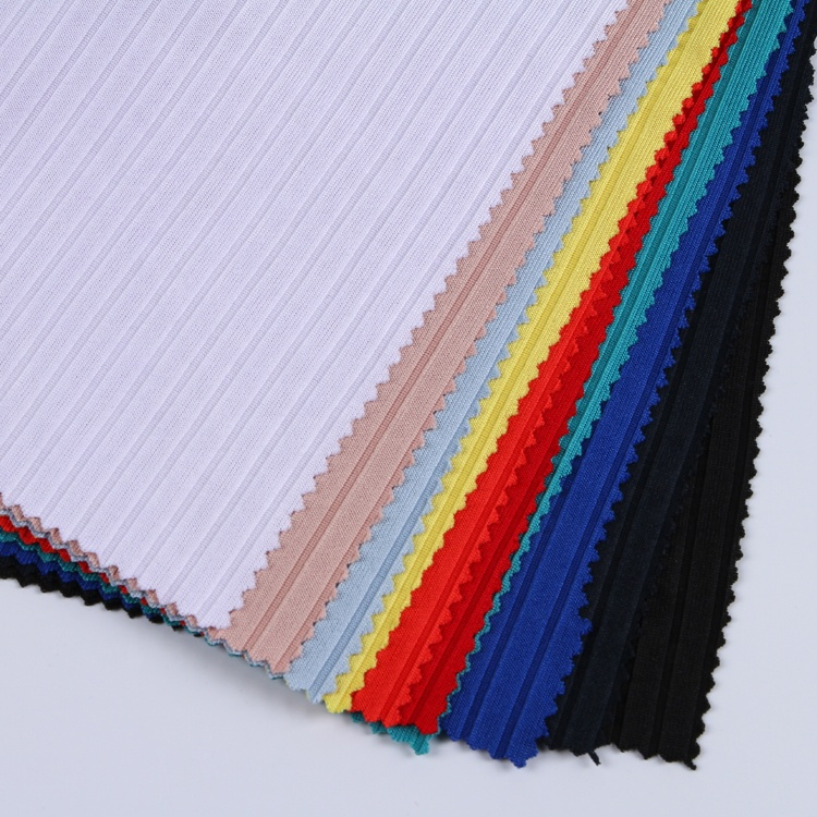 Keqiao Textiles 8x4 Poly Spandex Rib Names Of Cloth White Knitted Fabric  For Pajamas - Buy Knitted Fabric For Pajamas,Winter Fabric For Coats,Names  Of