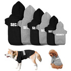 Manufacturer wholesale OEM custom logo designer black blank pet dog hoodie