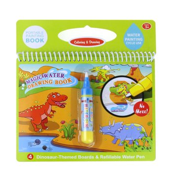 High Quality Water Paint Book Magic Kids Color Book With Water Pen