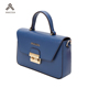2019 Designer No MOQ Waterproof PU Leather Blue Jeans Purse Women Handbag For Women