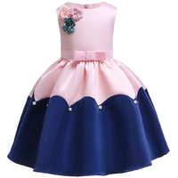 2019 summer Children Girl Princess Dress Sweet ball gown party dress for 2 to 8 girl kids Girl Festival birthday Formal Dress