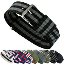 One Piece Sport Nylon Wrist Watch Band Straps Man Nato