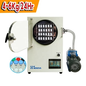4-6Kg 9-13lb Small Vacuum Vaccum Freeze Dryer for Laboratory Home Use