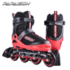 PAPAISON Aluminium frame Adjustable red color Inline Skate for kids roller skate shoes wholesale