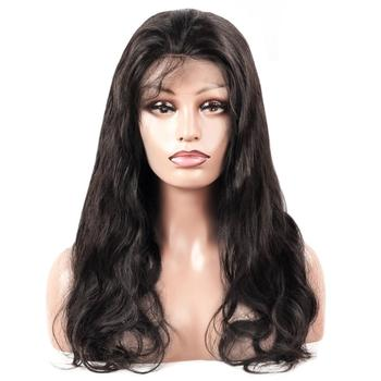China Manufacturer Wholesale Cheap 100% Virgin Human Hair Full Lace Wig Vendors Body Wave Wig